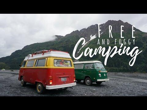 Free & Foggy Camping - Northbound 9 - VANLIFE Alaska