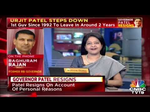Raghuram Rajan Calls Urjit Patel's Resignation A Statement Of Dissent