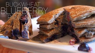 Protein Packed Buckwheat Blueberry Pancakes  Help Lower Bad Cholesterol! | Tiger Fitness
