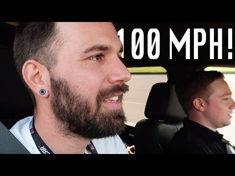 GOING 100 MPH WITH REAL RACE CAR DRIVER IN THE DAYTONA 500!