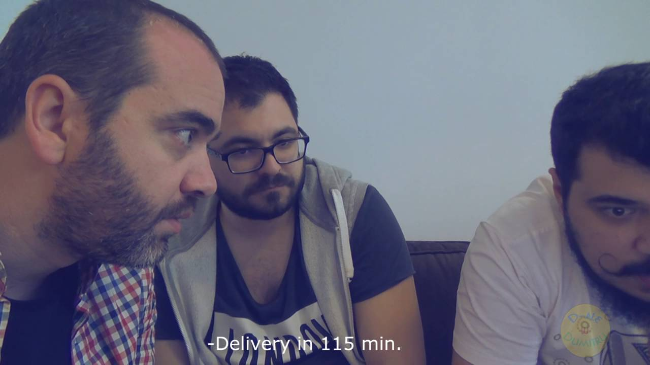 Mi-e foame! (episodul 3) Razi cu Pofta!