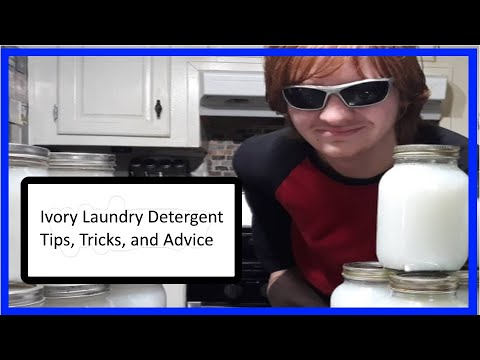Homemade Ivory Laundry Soap | DIY | Wildberry Cottage