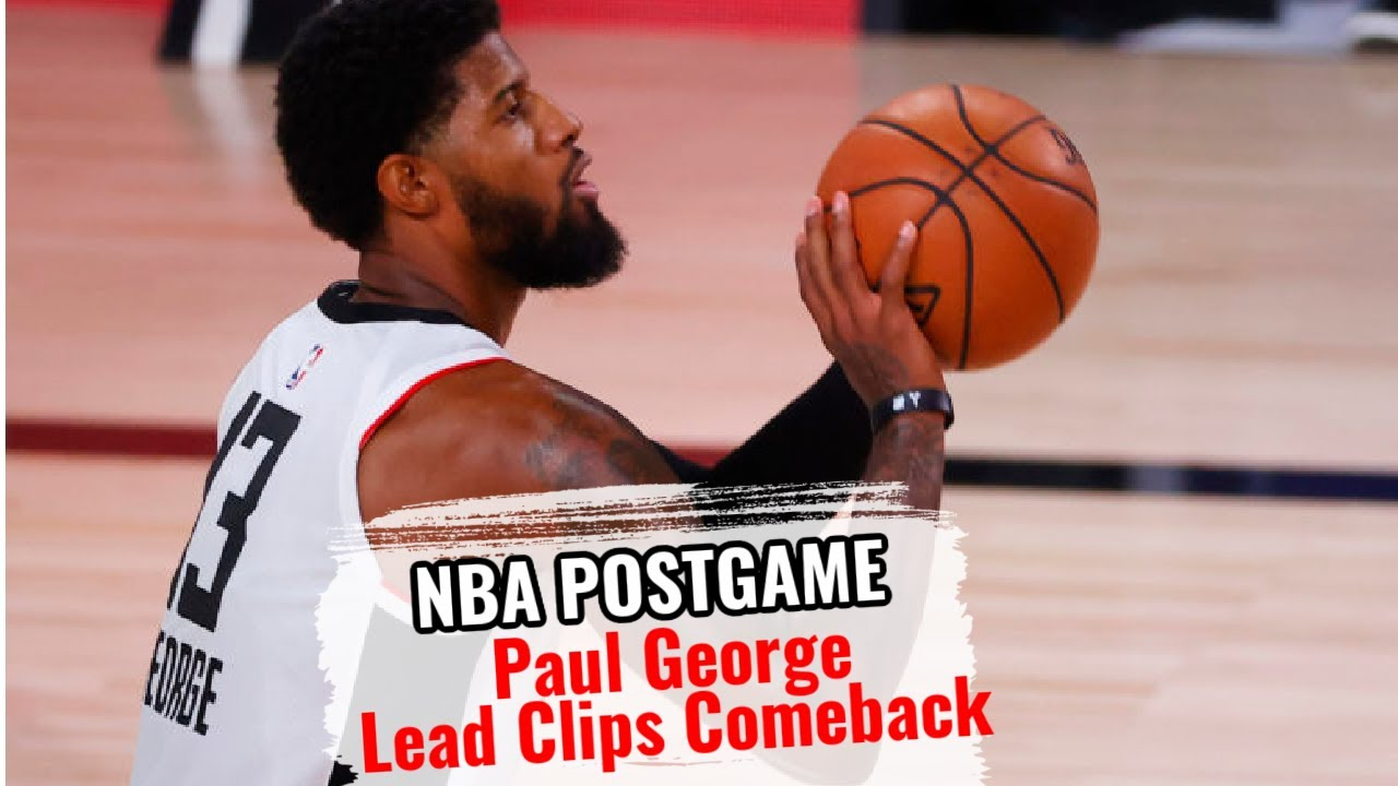 Paul George Postgame Interview - Game 3 | Clippers vs Nuggets