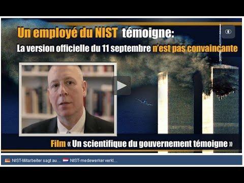 Un employé du NIST témoigne : La version officielle du 11 septembre n'est pas convaincante