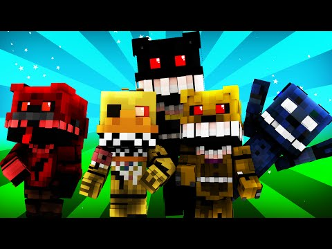 FNAF World - Night 4 (Minecraft Roleplay)