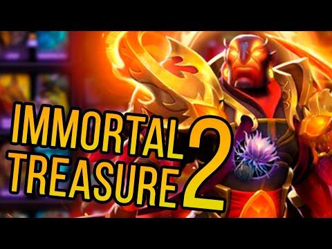 видео: ВТОРАЯ СОКРОВИЩНИЦА immortal treasure ii ВЫШЛА dota 2