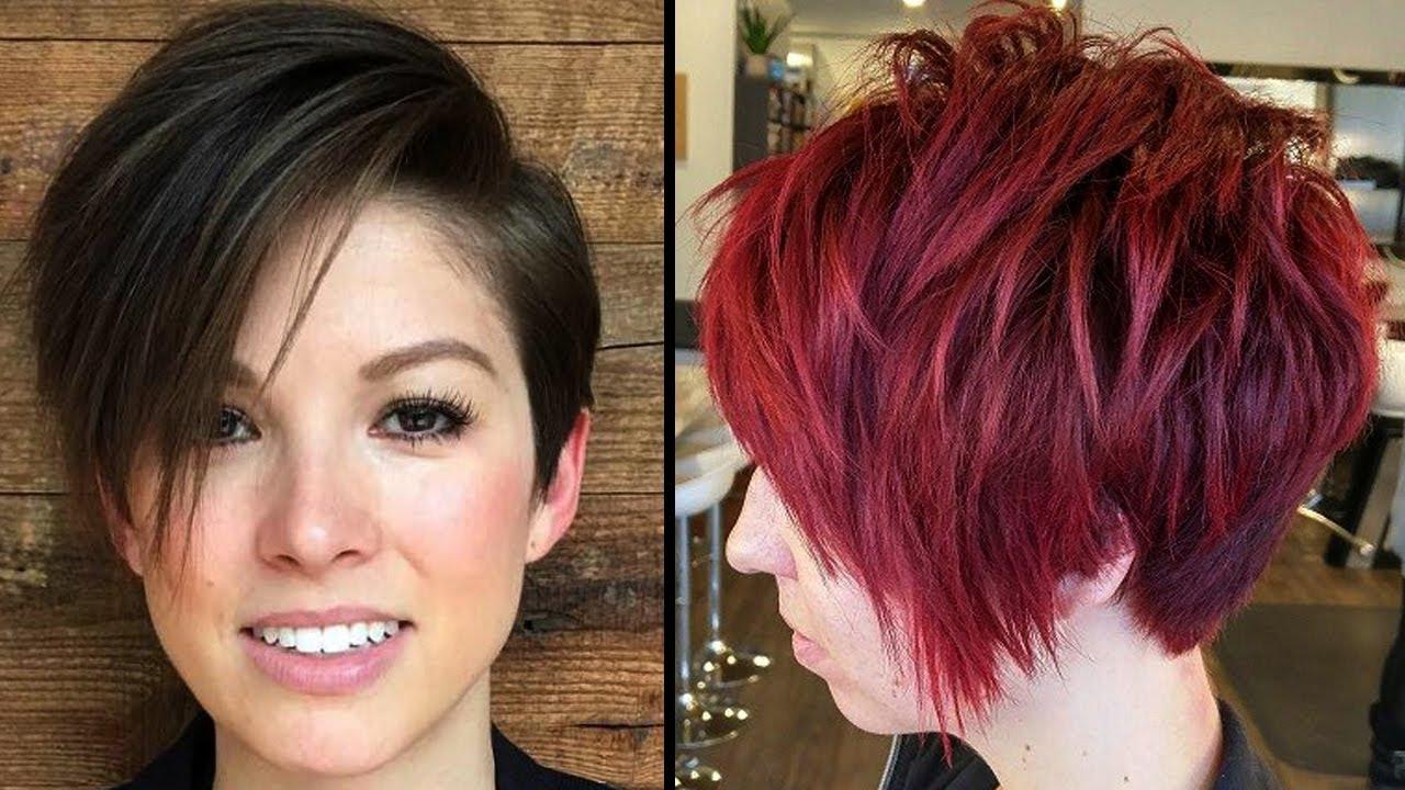 cortes de cabello cortos para mujer modernos 2017 - Pelos Cortos Modernos