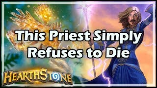 This Priest Simply Refuses to Die - Dungeon Run / Hearthstone