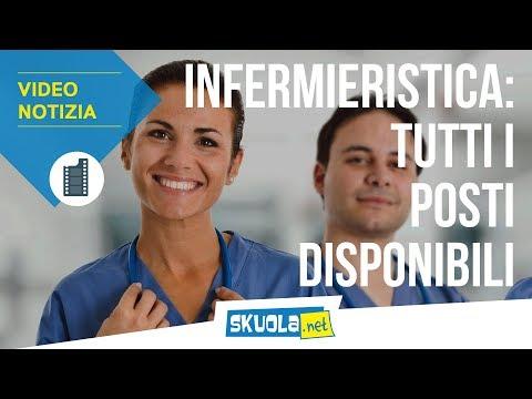 Test Professioni Sanitarie, infermieristica: i posti disponibili