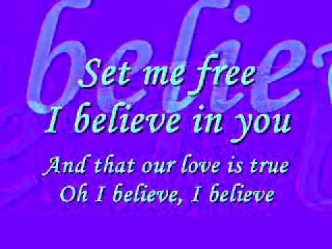 TATA YOUNG - I BELIEVE (LYRICS)