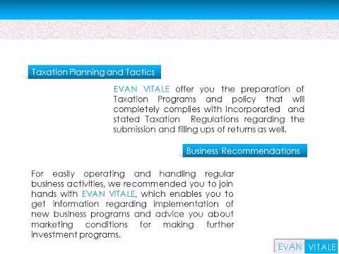 Evan Vitale - Certified Public Accountant