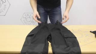 Обзор костюма Горка 3 черного цвета