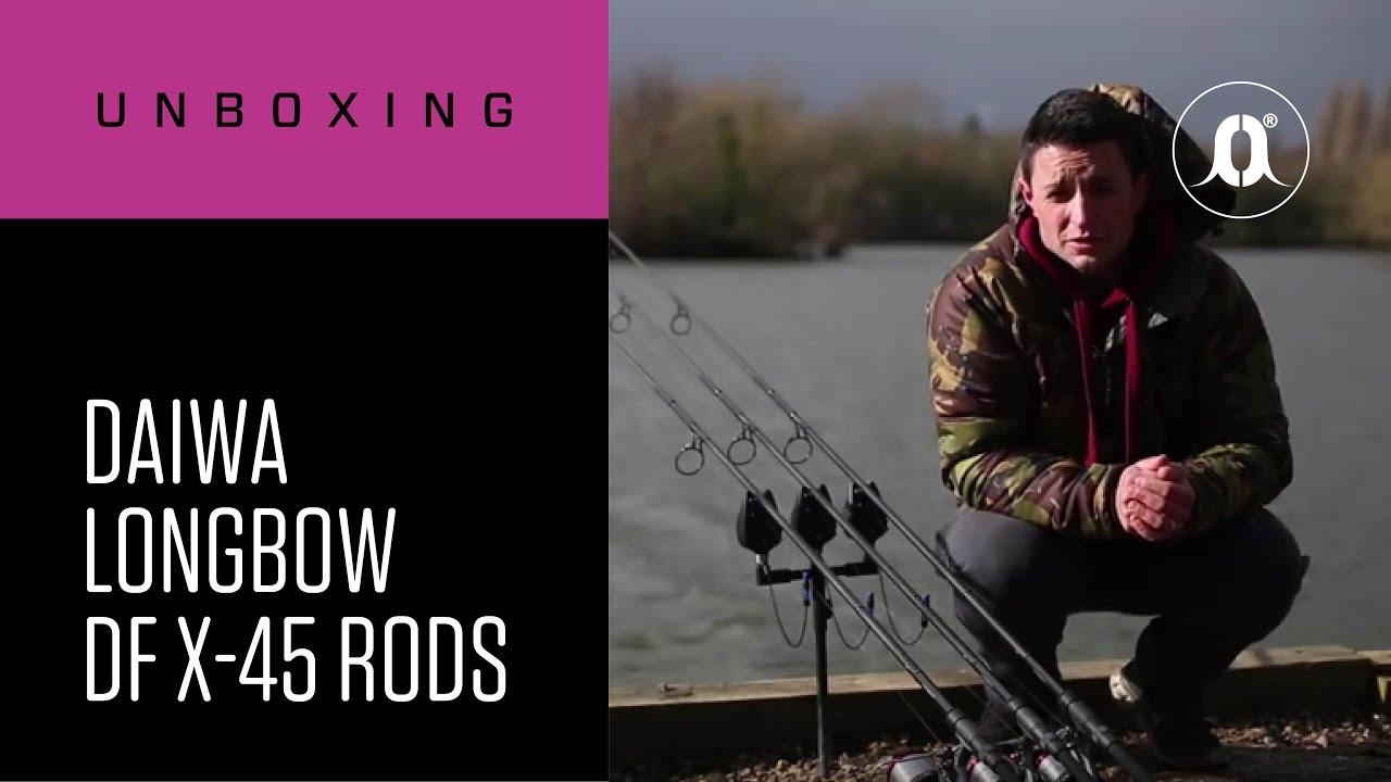 6321b0c35ea CARPologyTV - Daiwa Longbow DF X-45 Carp Rods Unboxing Review - YouTube