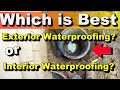 Exterior or Interior French Drain and Sump Pit - Where is the Best Place to Install?