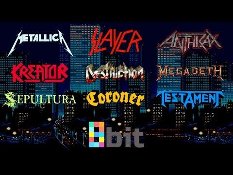 Thrash Metal bands in 8bit NES