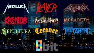 Thrash Metal bands in 8-bit (NES/Famicom)