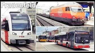Frauenfeld Railways Station, Switzerland / Bahnhof Frauenfeld (Kanton Thurgau)