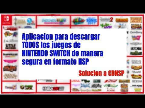 Aplicacion para descargar todos los juegos de Nintendo Switch en NSP