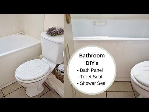 DIY Bathroom Jobs, Replacing My Bath Panel
