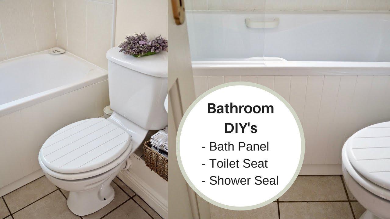 diy bathroom jobs replacing my bath panel  youtube
