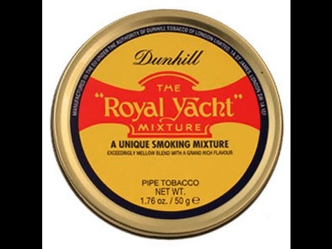 "Tobacco Review : Dunhill ""Royal Yacht"""