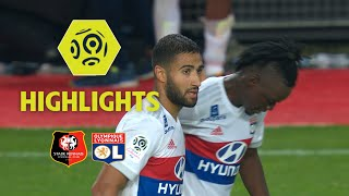 Stade Rennais FC - Olympique Lyonnais (1-2) - Highlights - (SRFC - OL) / 2017-18