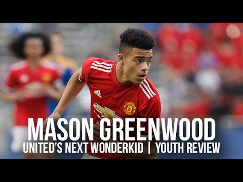 Mason Greenwood; Manchester United's Next Wonderkid! Academy Player Of The Year Review