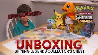 Pokémon Shining Legends | Collector's Chest Card Unboxing