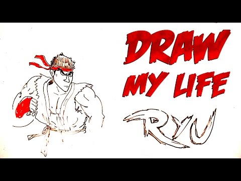Draw My Life : Ryu By Gregory Guillotin