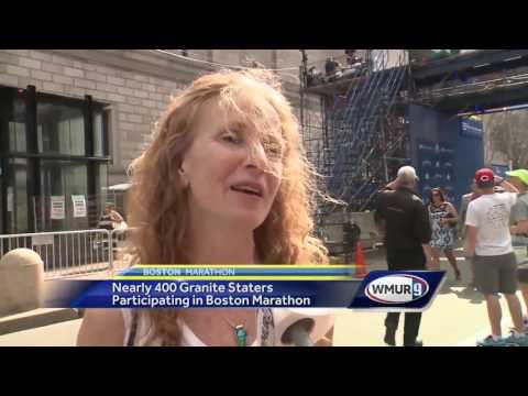 Runners ready to take on Boston Marathon