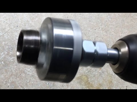 Make a Mini Lathe Chuck for a Drill Perfect for Ring or Coin Ring Making