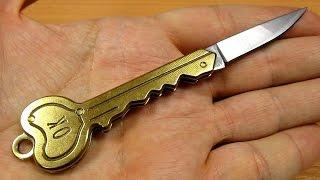 как сделать нож-ключ