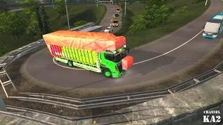 ETS2    Truck Hino Lintas Sumatra kembali buka Jalur