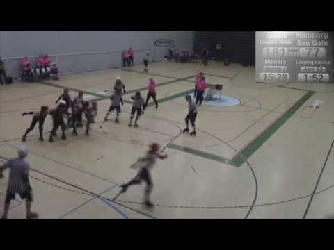 Its all about Roller Derby: M/S Tampere hits Harbor-Bout of the B teams