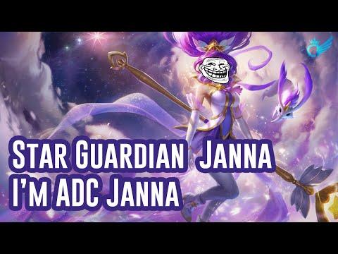Star Guardian Janna | I'm ADC Janna