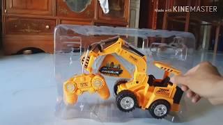 Đồ chơi trẻ em | Mở hộp máy xúc đồ chơi giá rẽ | máy xúc khổng lồ