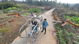 Amazing Homemade Inventions | Asian Homemade Helicopter 2017