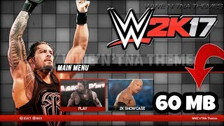 (60mb)How To Download Wwe 2k17 Just (60Mb) For Android(Real Mod) (Highly Compressed)