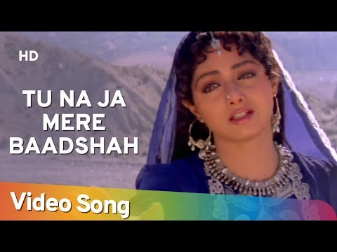 Tu Na Ja Mere Badshah - Amitabh Bachchan - Sridevi - Khuda Gawah - Bollywood SuperHit Songs [HD]