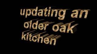25 year oak kitchen update