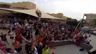 Bikes Over Baghdad April 2015 Middle East troops BMX Demos