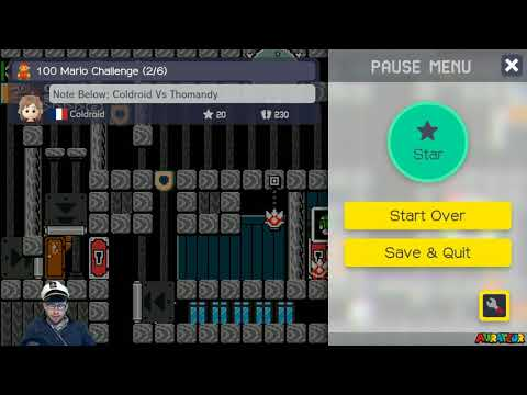 """100-Mario Highlight: """"Note Below: Coldroid Vs Thomandy"""" by Coldroid"""