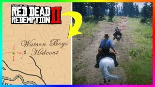 Where Does The Old Lady At Watson's Cabin Go If You Follow Her In Red Dead Redemption 2? (RDR2)