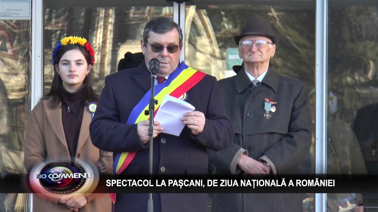 SPECTACOL LA PASCANI,  DE ZIUA NATIONALA A ROMANIEI