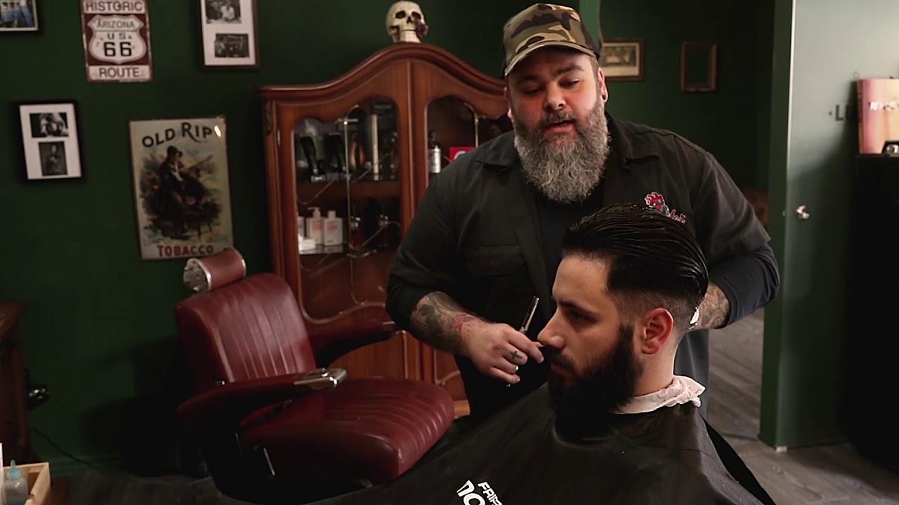 HaarschnittAnleitung Fade Cut Haarschnitt  YouTube