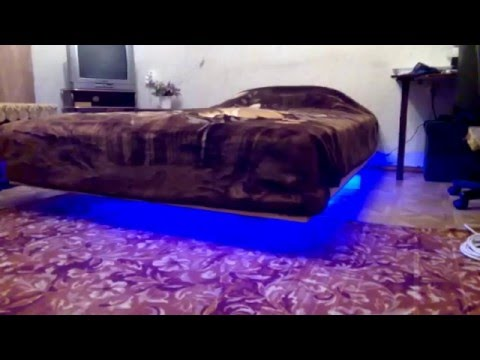 Парящая кровать своими руками за новогодние каникулы