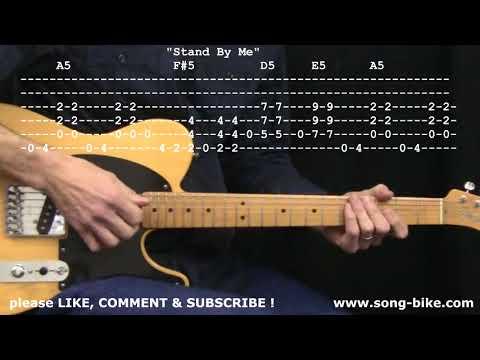 Stand  Me  Ben E King: 365 Riffs For Beginning Guitar !!