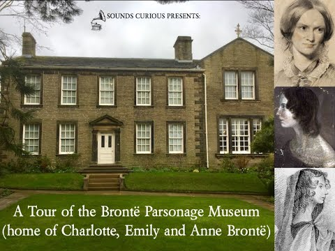 ASMR/Relaxation - A Tour of the Bronte Parsonage Museum (literature/history)