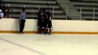 PJHL Highlight - John Wesley goal off the faceoff
