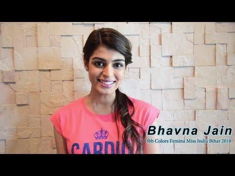 Introducing fbb Colors Femina Miss India Bihar 2018 Bhavna Jain